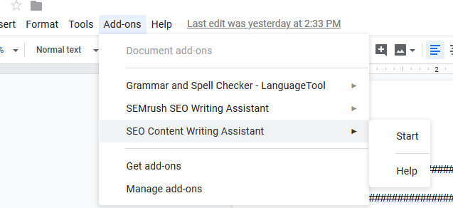 Free Alternative to SEO Writing Assistant